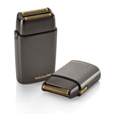 BaBylissPRO® LimitedFX Collection Gunmetal Double & Single Foil Shaver Duo