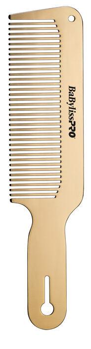BaBylissPRO® GOLDFX Metal Comb 2-Pack image number 0