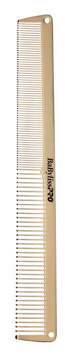 BaBylissPRO® GOLDFX Metal Comb 2-Pack image number 1