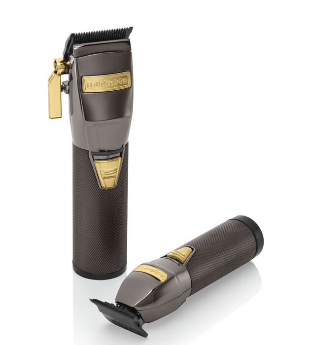BaBylissPRO® LimitedFX Collection Gunmetal Clipper & Trimmer Duo image number 0