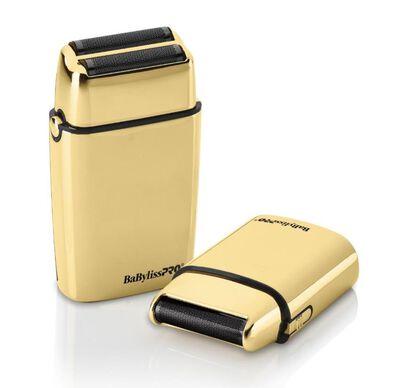 BaBylissPRO® LimitedFX Collection Gold & Black Double & Single Foil Shaver Duo