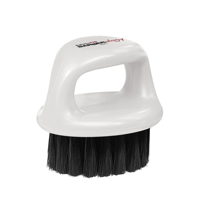 BaBylissPRO® BARBERology™ Fade Clean Brush (White) image number 0