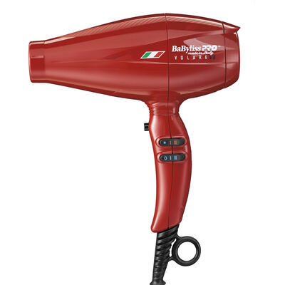 BaBylissPRO® Nano Titanium™ Volare® V1 Full-Size Dryer Ferrari-Designed Engine (RED)