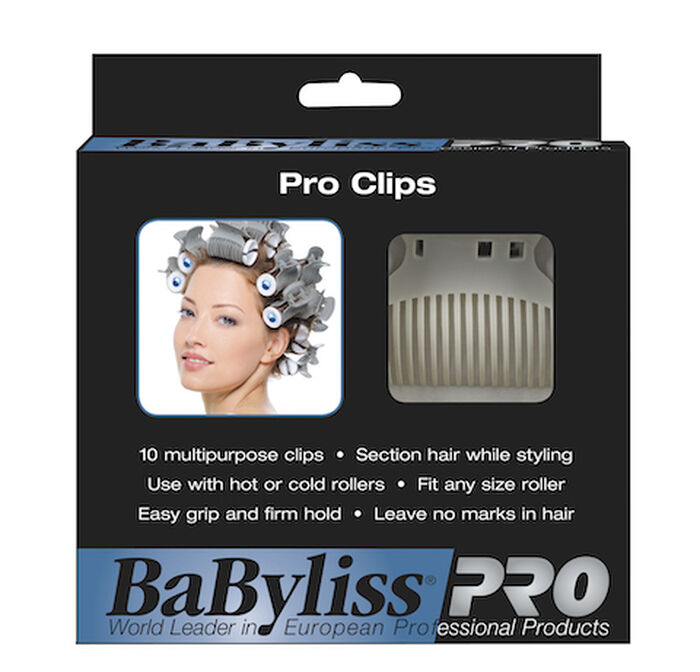 BaBylissPRO® Clips for Rollers image number 0