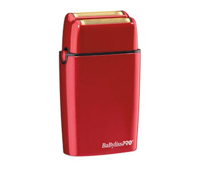 BaBylissPRO® FOILFX02™ Cordless Red Metal Double Foil image number 1