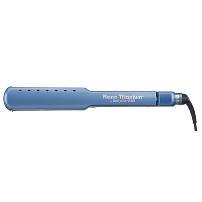 "BaBylissPRO® Nano Titanium™ 1½""  Wet-to-Dry Ultra-Thin Straightener image number 1"