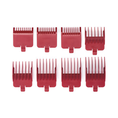 BaBylissPRO® Red Comb Set for All 811 Models, FX665, FX668, FX671