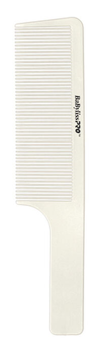 "BaBylissPRO® BARBERology™ 9"" Clipper Comb (White) image number 0"