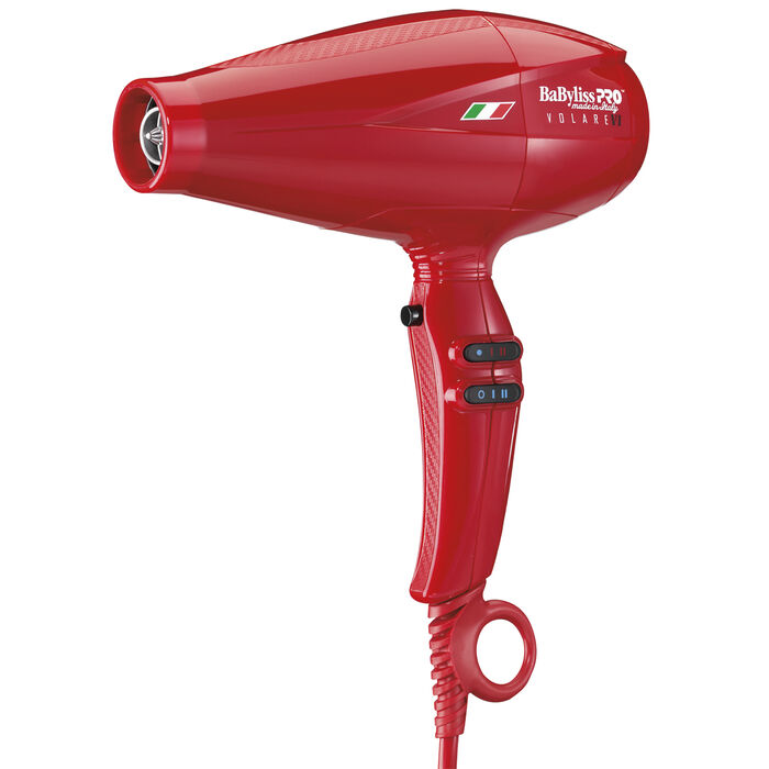 BaBylissPRO® Nano Titanium™ Volare® V1 Full-Size Dryer Ferrari-Designed Engine (RED) image number 1