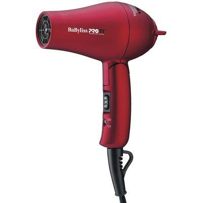BaBylissPRO TT® Tourmaline Titanium Travel Dryer (Red)